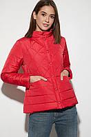 Женская куртка демисезонная Кэрол красная. Живое фото