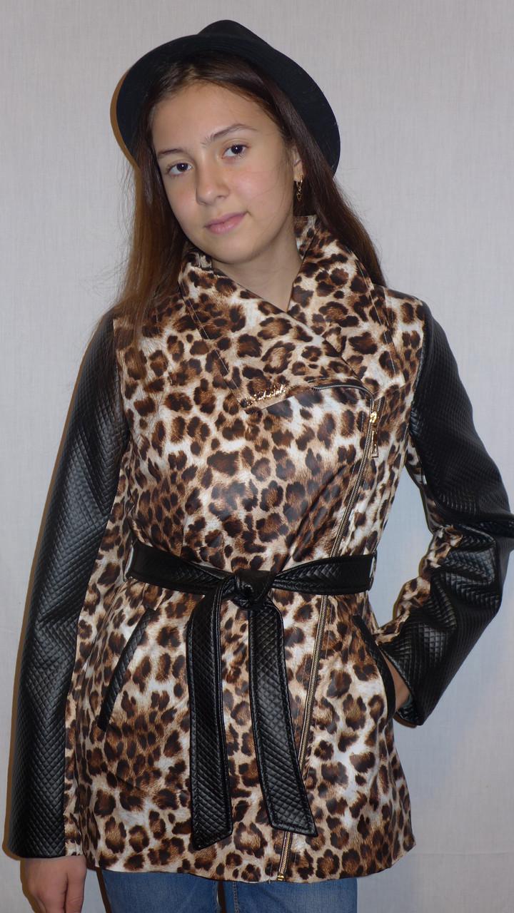 Косушка из плащевки(леопард)