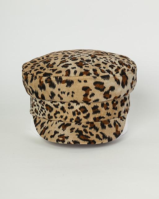 Кепи шерсть леопардовая