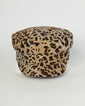 Кепи шерсть леопардовая, фото 2