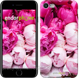 """Чехол на iPhone 7 Розовые пионы """"2747c-336-19414"""""""