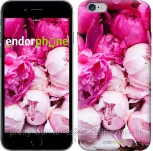 "Чехол на iPhone 6s Plus Розовые пионы ""2747c-91-19414"""