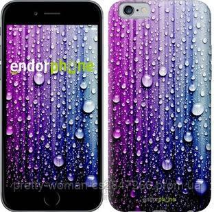"""Чехол на iPhone 6 Капли воды """"3351c-45-19414"""""""