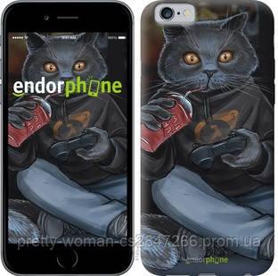 """Чехол на iPhone 6s gamer cat """"4140c-90-19414"""""""