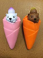 Антистресс-игрушка сквиш Мороженое, фото 1