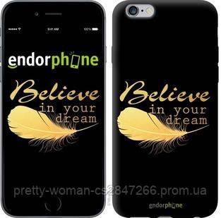 "Чехол на iPhone 6 Plus Верь в свою мечту ""3748c-48-19414"""