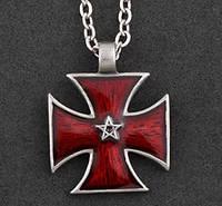 Подвеска мужская Крест винтажный
