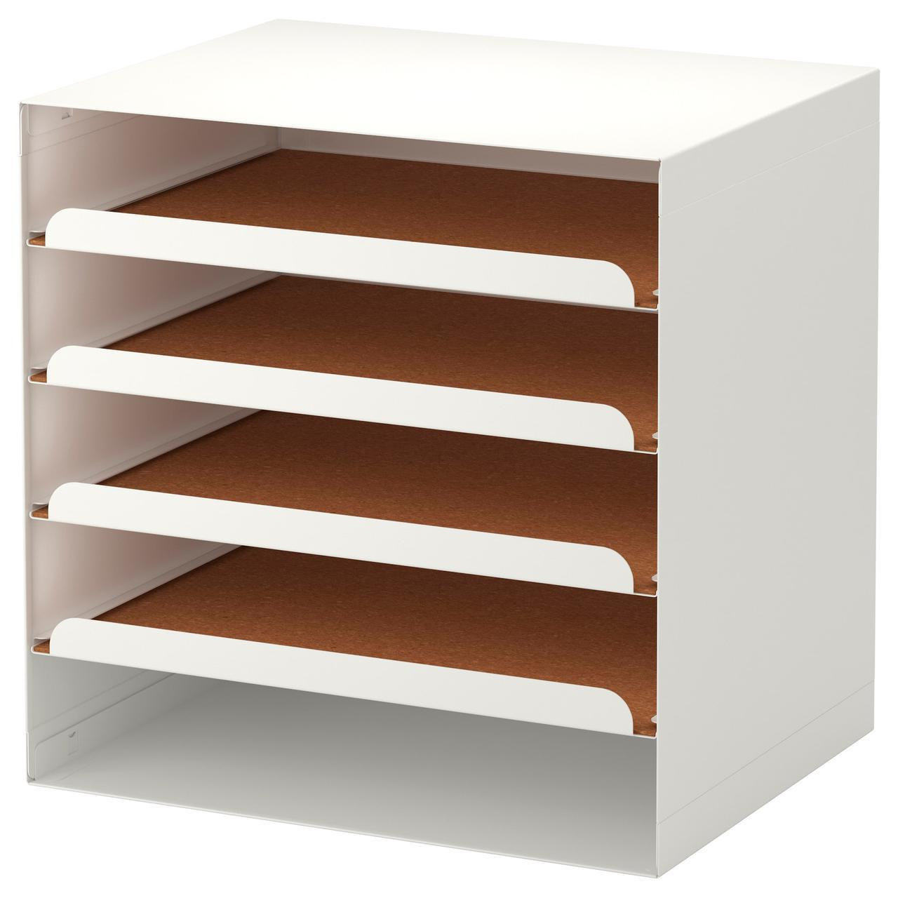 IKEA KVISSLE (701.980.31) Лоток для корреспонденции, белый