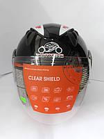 Шлем WLT-202 (открытый белое стекло)MotoTech, фото 1