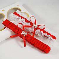 Набор свадебных подвязок №8