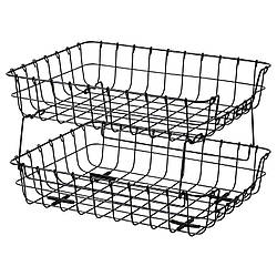 IKEA PLEJA (403.480.46) Лоток для корреспонденции, черный