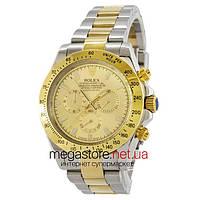 Механические мужские копия часы Rolex Daytona AAA серебро (22963) реплика, фото 1