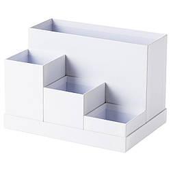 IKEA TJENA (603.954.52) Настольный организатор, белый