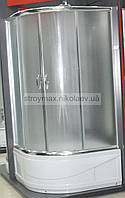 Душевая кабина SANTEH 8021F (80*80*200 см) поддон 40 см хром/фабрик