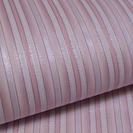 Обои, обои на стену, дуплекс, розовая полоска, B64,4 Фиеста 2 6547-06, 0,53*10м, фото 2