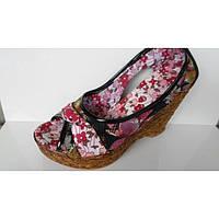 Туфли летние из текстиля