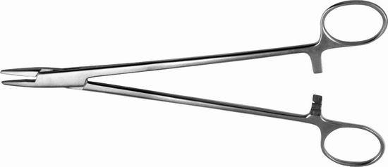 Иглодержатель сосудистый легированный 200 мм.