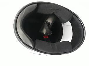 Шлем HF-101/501 KUROSAWA-MT Сірий (Розмір: S), фото 2