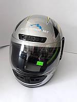 Шлем HF-101/501 СЕРЫЙ KUROSAWA-MT, фото 1