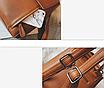 Рюкзак женский кожаный трансформер Cool Коричневый, фото 8