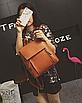 Рюкзак трансформер женский кожзам сумка Cool Коричневый, фото 2