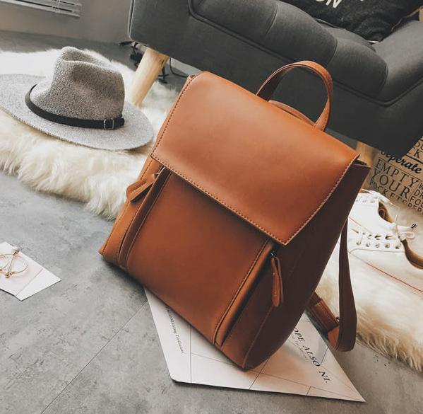 Рюкзак трансформер женский кожзам сумка Cool Коричневый