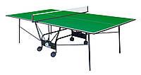 Теннисный стол складной GSI-Sport Compact Light Зеленый