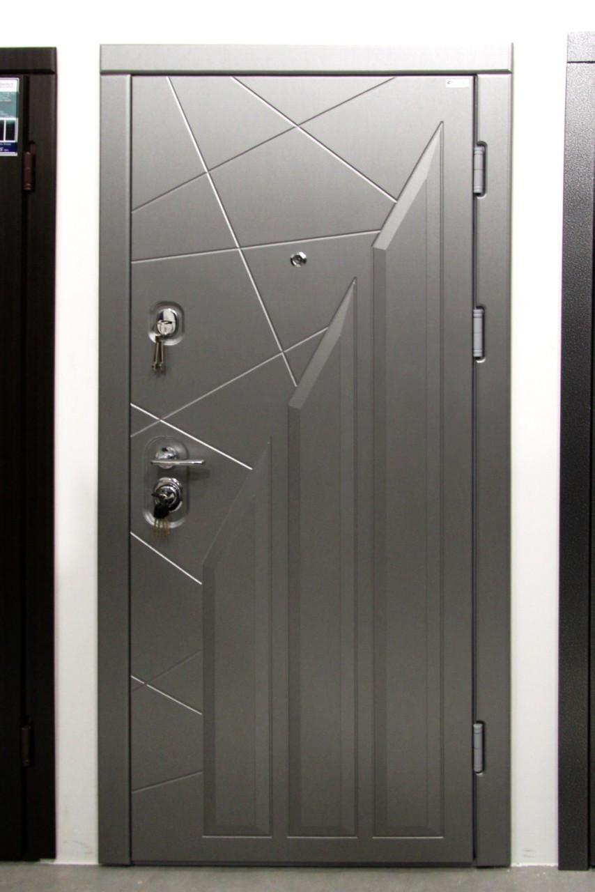 """Вхідні двері StellArt ВІП """"Геометрія"""" Квартира 850, праві"""