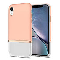 Чехол Spigen для iPhone XR La Manon Jupe, Milk Peach (064CS25373), фото 1