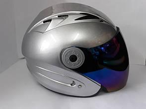 Шлем HF-210/613 MotoTech Відкритий/Тоноване скло (Розмір: S), фото 3