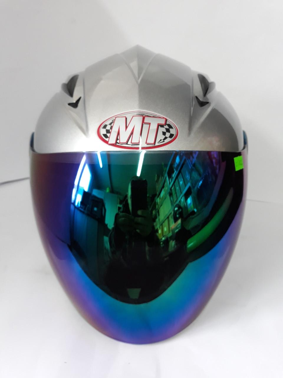 Шлем HF-210/613 MotoTech Відкритий/Тоноване скло (Розмір: S)