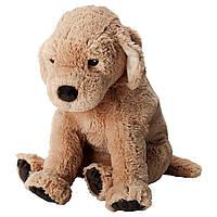 IKEA GOSIG GOLDEN (001.327.98) Мягкая игрушка, желтая собака, золотой ретривер