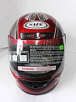 Шлем B-201 червоний, фото 1