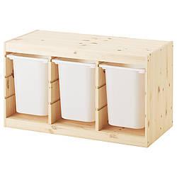 IKEA TROFAST (091.025.32) Шкаф с контейнерами