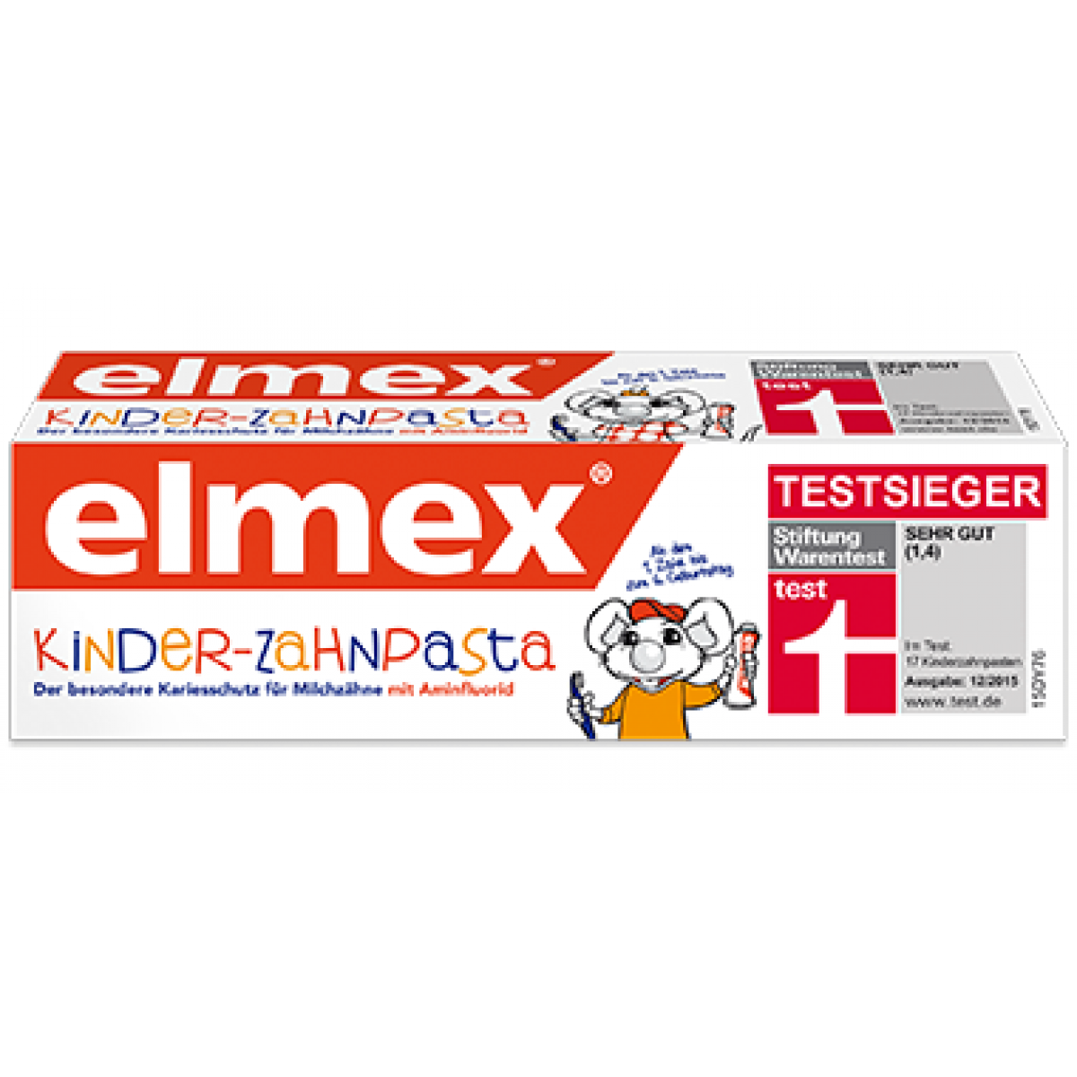 Зубная паста для детей Elmex Kinder до 6 лет, 50 мл (Швейцария) TP0024