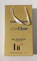 Подарунковий набір 45ml jeanmishel Love Choe мотузка