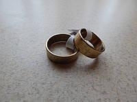 Кольца под золото с молитвой