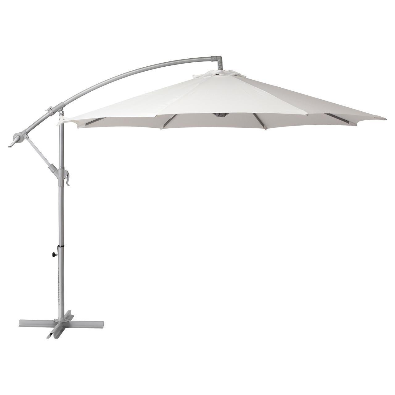 IKEA BAGGON (502.602.84) Подвесной Зонт от солнца, белый