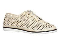 Туфли женские на плоской подошве из натуральной кожи от производителя модель  АР1007 d1cb9963be611