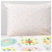 IKEA LATTJO (103.509.17) Комплект постельного белья, фея, светло-розовый