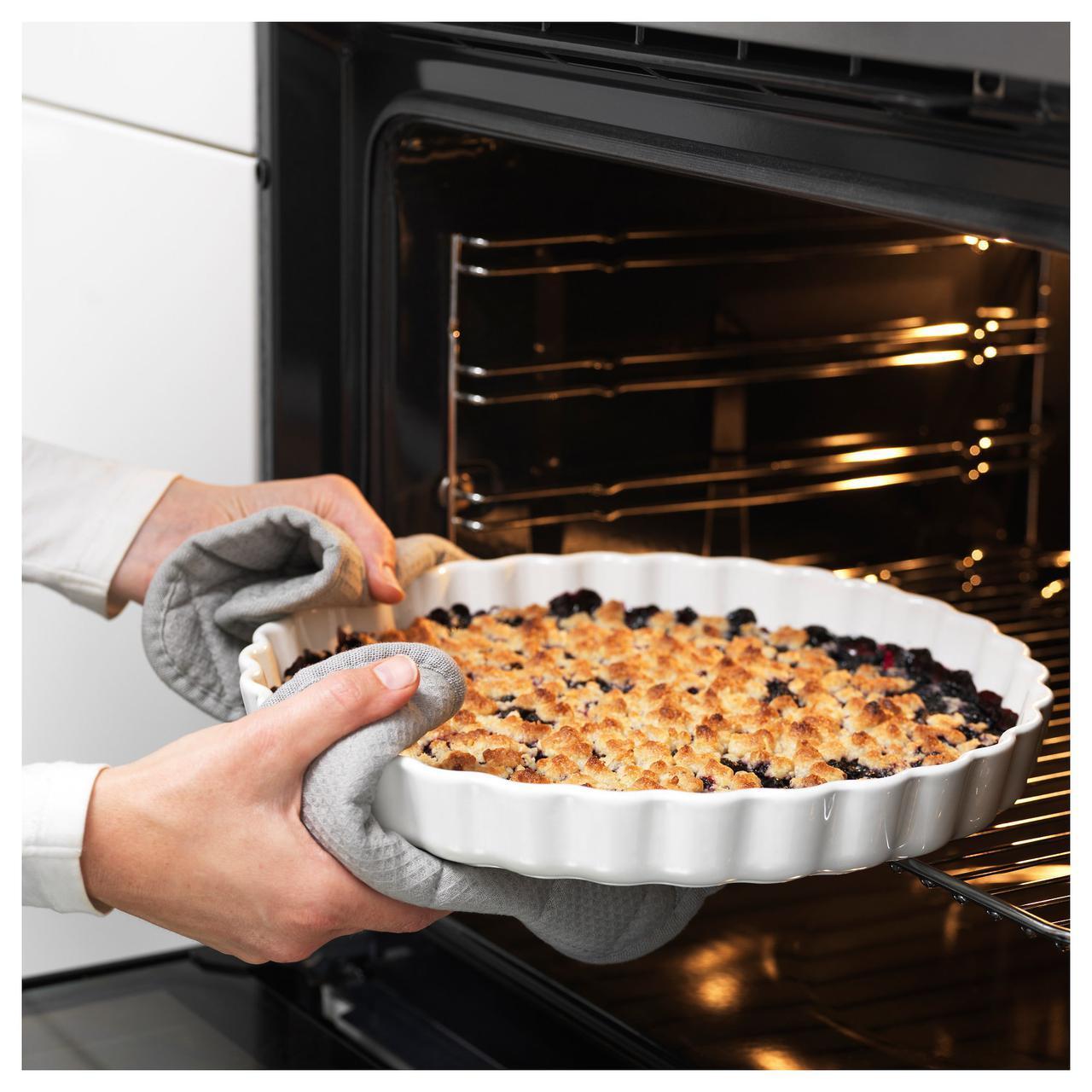 IKEA VARDAGEN (102.893.07)  Форма для открытого пирога сливки