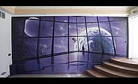 Роспись стен художниками