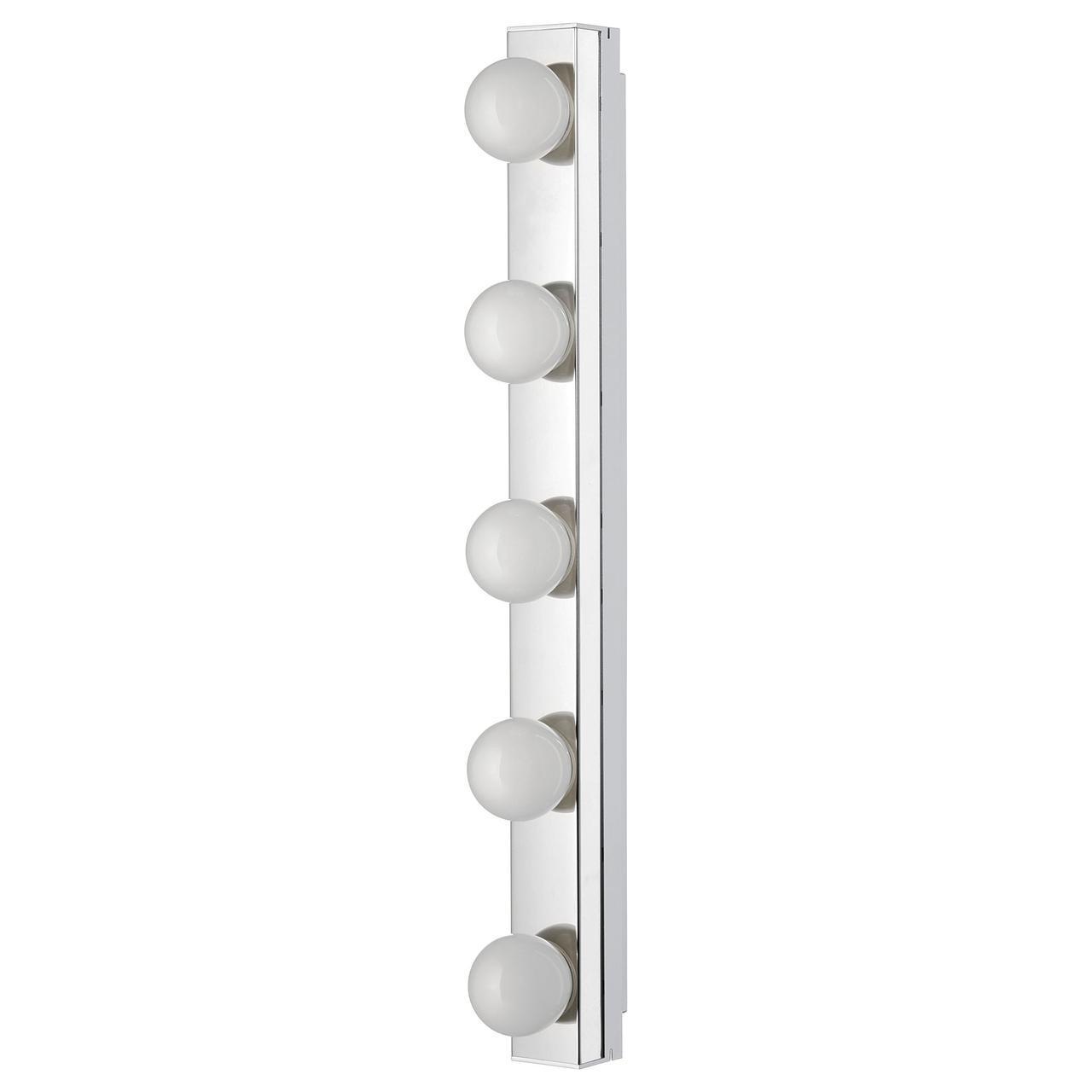 IKEA LEDSJO (403.597.61) Светодиодная настенная лампа, нержавеющая сталь