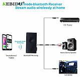 Bluetooth аудио передатчик + приемник BT-500 (Transmitter + Receiver), фото 5