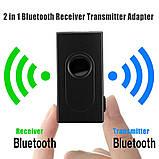 Bluetooth аудио передатчик + приемник BT-500 (Transmitter + Receiver), фото 2