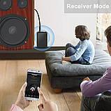 Bluetooth аудио передатчик + приемник BT-500 (Transmitter + Receiver), фото 7