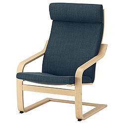 IKEA POANG (491.978.06) Кресло, ok birches, светлые поцелуи
