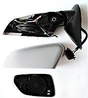Левое зеркало в сборе ( корпус кронштейн поворотник стекло ) Шкода Октавия А5 до 2008 электро SkodaMag, фото 1