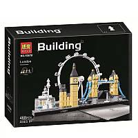 """Конструктор Bela 10678 """"Лондон"""" 468 деталей. Аналог Lego Architecture 21034, фото 1"""