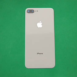 Задняя панель корпуса Apple iPhone 8 Plus Серебристая